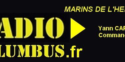 Ecoutez RADIOCOLUMBUS #16 avec LES MARINS DE L'HERMIONE n°7 : Yann CARIOU