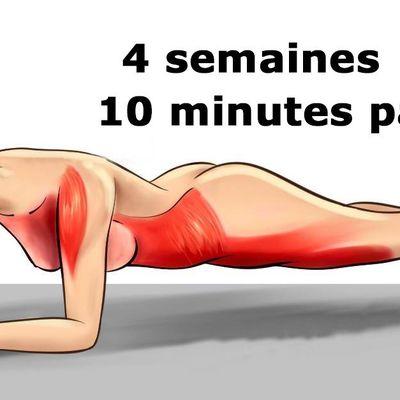 Transformez votre corps en seulement 4 semaines avec ces cinq exercices simples
