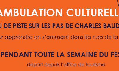 Déambulation culturelle : sur les pas de Charles Baudelaire
