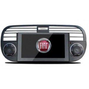 Poste Autoradio DVD GPS Fiat 500 avec écran tactile 6.2,fonction bluetooth ,TNT AM FM