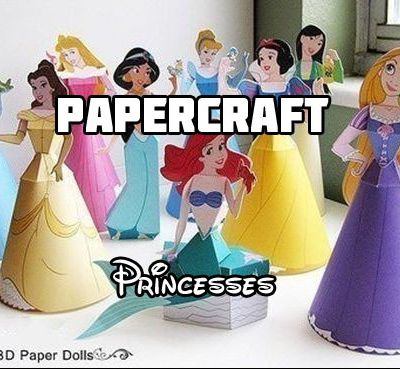PAPERDOLLS: Princesses Disney