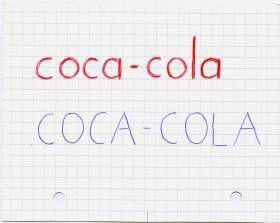 Nouveau mot : COCA-COLA
