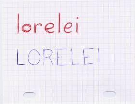 Nouveau mot : LORELEI