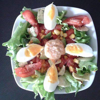 Idée salade en photos