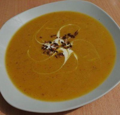 Soupe butternut noisettes