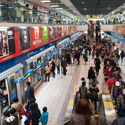 Taiwan - Le métro de Taipei