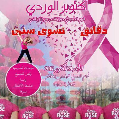 ديوان الخدمات الجامعية للجنوب :  يوم وردي من أجل الاكتشاف المبكر لمرضى سرطان الثدي