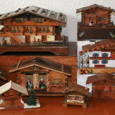 Historique de ma collection de chalets miniatures