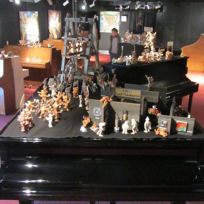 P'tikons sur des pianos