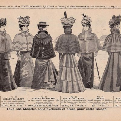 Catalogue 1898 - Vêtements pour dames