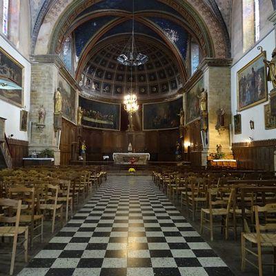 Restauration de l'église de Massat