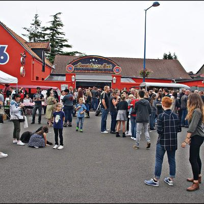 American Bar 76 L'inauguration + concert des king riders