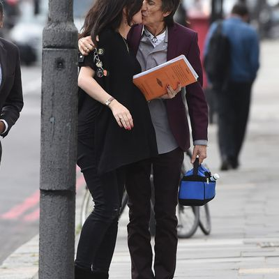 DAD AGAIN AT 68 Papa is a Rolling Stone! Ronnie Wood becomes dad to twins – aged 68