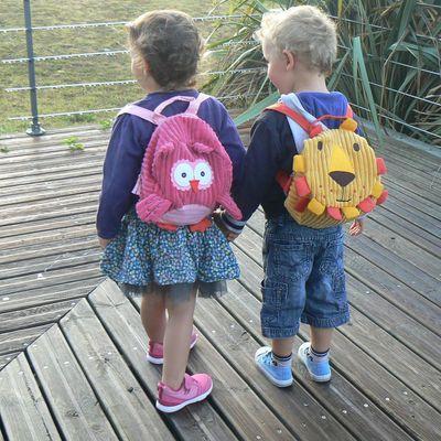 La rentrée de mes jumeaux à la maternelle