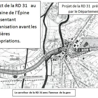 Comment peut-on dire que la RD 31 est une déviation ?