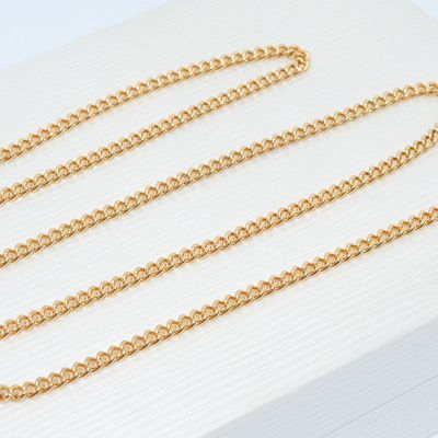 Chaîne massive / Collier / Maille gourmette / UNISEXE / 25,60 gr / Or 18K / 18 carats / 750/1000   REF / AB 966