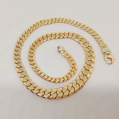 NEUF / PROMO / Collier Maille anglaise / 31,80 gr/ Or 18k / Joaillerie 750/1000 / Or 18 carats    REF / AA 1085