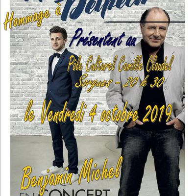 Hommage à Michel Delpech par Benjamin Michel le vendredi 4 octobre 2019 au Pôle Culturel Camille Claudel