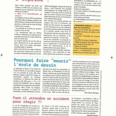 JOURNAL IMAGINONS DEMAIN page 4