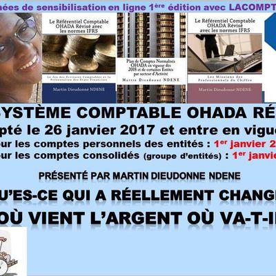 SE SONT INSCRITS AUX JOURNÉES DE SENSIBILISATION EN LIGNE SUR LE SYSCOHADA RÉVISÉ DU 04 AU 08 DÉCEMBRE 2017