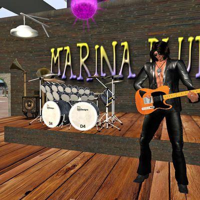 Bono Fouroux au Marina Blues