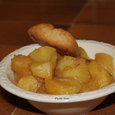 Compotée de Pommes (à ma façon)