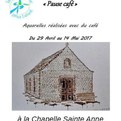 Exposition  Pause Café à la Chapelle Sainte Anne