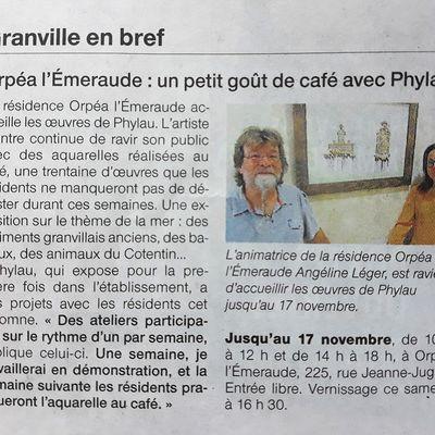 Article Ouest France du 06 Octobre 2017