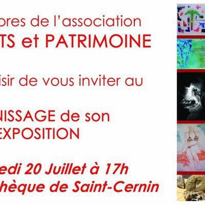 Cette année Freix' Arts et Patrimoine s'exporte à Saint-Cernin