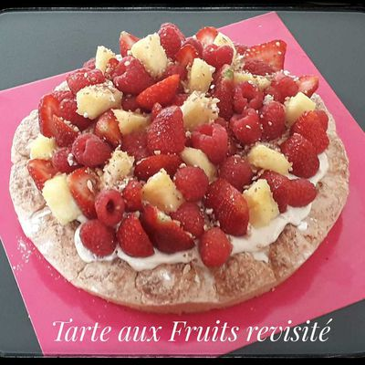 TARTE AU FRUITS REVISITE