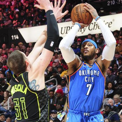 Basket - NBA : Carmelo Anthony rejoint Atlanta, Timothé Luwawu-Cabarrot file au Thunder