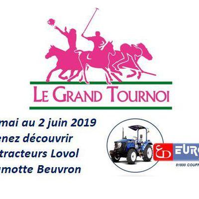 Eurotek et Lovol partenaires du Grand Tournoi à Lamotte-Beuvron / FFE