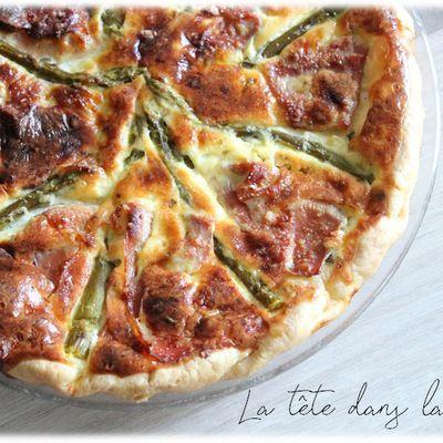Tarte Asparges / jambon cru