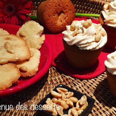 Cupcakes au beurre de Cacahuètes