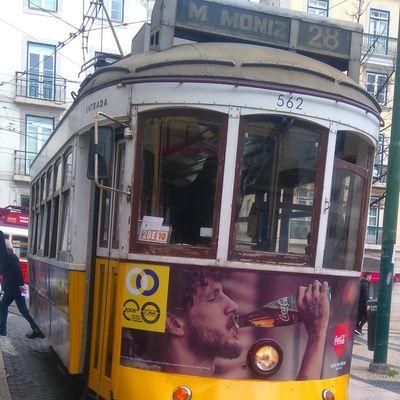 Le célèbre Tram 28 à Lisbonne