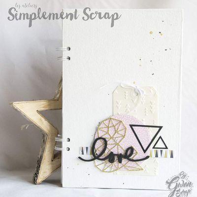 "Atelier Mini-album ""Love"" du 8 avril"