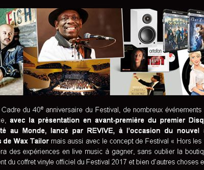 HI-FI, REPRODUCTION MUSICALE : le vinyle connecté arrive !