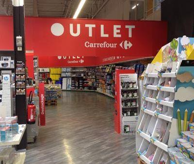 CARREFOUR Outlet, a créé ses espaces de bonnes (vieilles) affaires…
