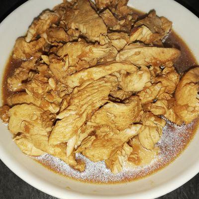 Aiguillettes de poulet au coca au cookéo