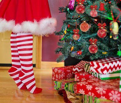 La magie de Noël avec Père Noël portable