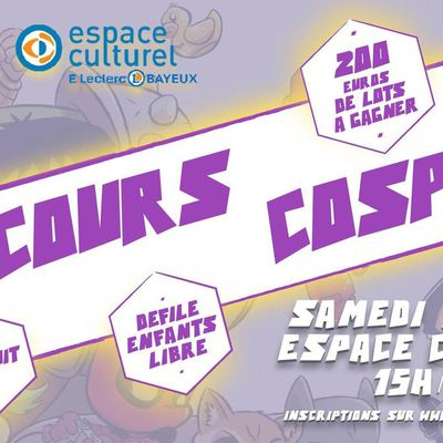 REGLEMENT/INSCRIPTIONS CONCOURS COSPLAY