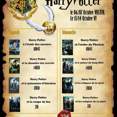 Marathon Harry Potter à Cholet
