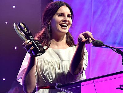 Lana Del Rey aux ASCAP Pop Music Awards (23.04.2018)