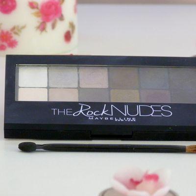 Tuto make up avec la palette The Rock Nudes