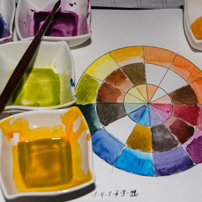 The Ultimate Palette of 13 Colours to Paint all your Watercolour Art