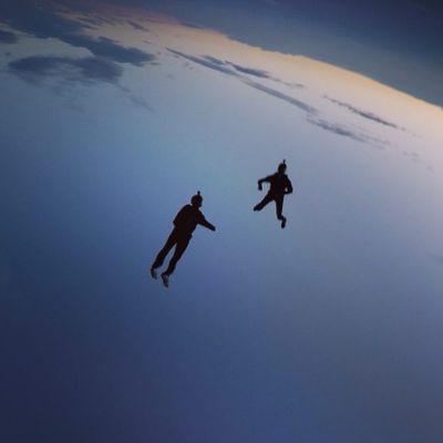 La folie du saut en parachute