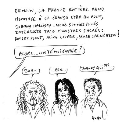 Hommages à Johnny HALLIDAY !