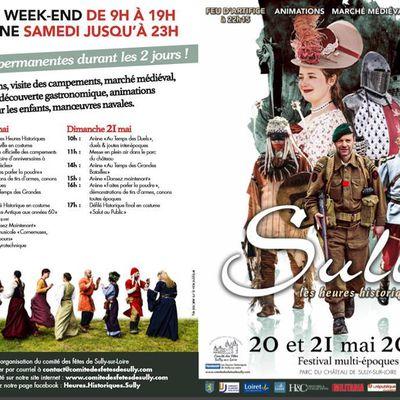 Le programme des Heures Historiques de Sully sur Loire