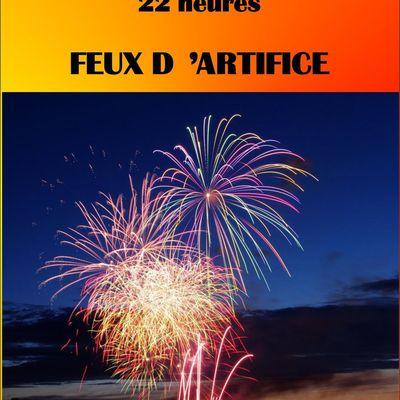 22 HEURES - SAMEDI FEUX D'ARTIFICE