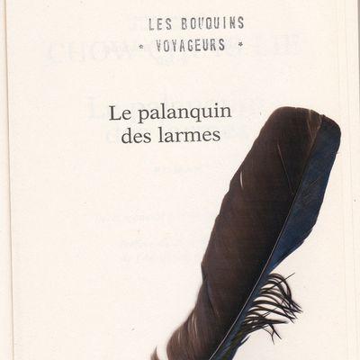 Entre les pages : une plume dans un palanquin